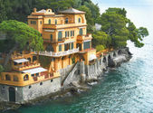 Seaside villa near Portofino in Italy