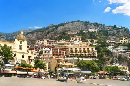 Positano resort on Amalfi coast. Italy
