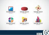 Icon template set 05