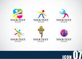 Icon template set 08