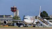 Jet letiště v Curychu