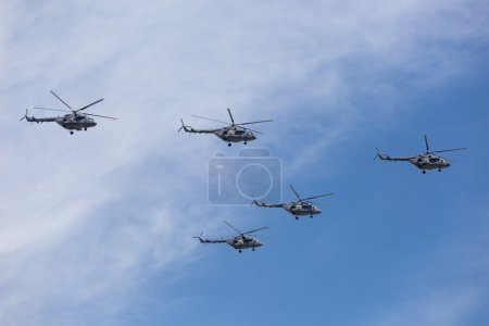 Mi-26 (Halo) helicopters