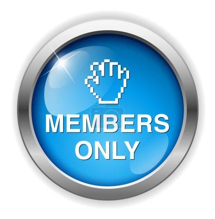 Bouton Membres seulement
