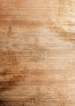 Photo for Old brown wooden board background, plank with texture, empty copy space - Royalty Free Image