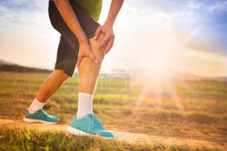 Runner's leg and muscle pain
