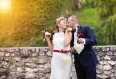 Fiatal esküvői pár