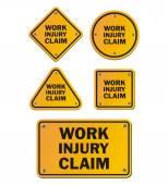 work injury claim signs