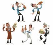 Set of Drunken sailors