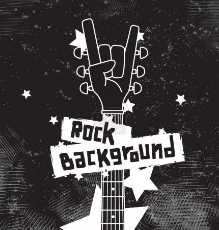 Rock background black