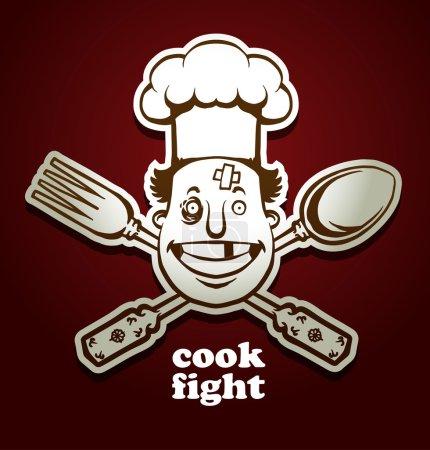 cook fight emblem