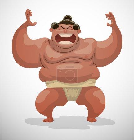 huge Sumo wrestler