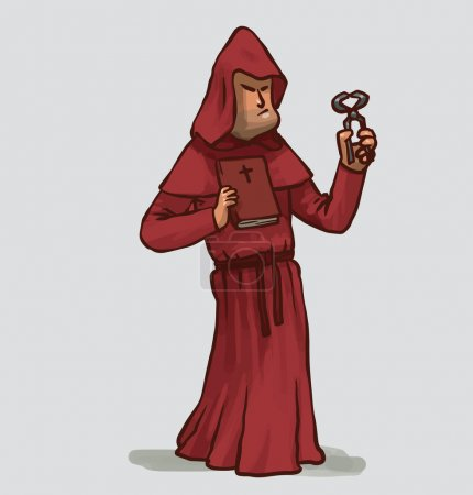 Inquisitor in red robe