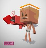 cute cube cupid