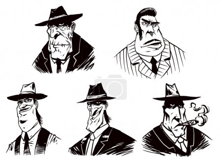 Set of Gangsters