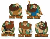 Set of Beards powers labels