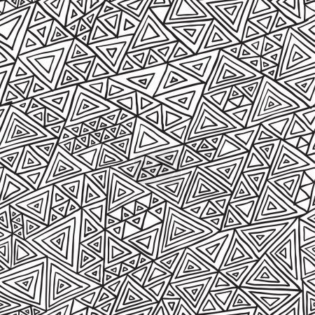 Seamless pattern from triangles, Abstract linear grid