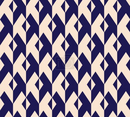 Illustration for Seamless abstract geometric pattern background - Royalty Free Image
