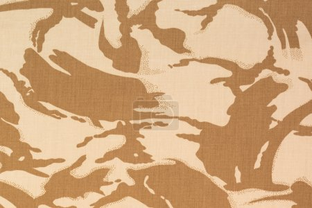 British armed force desert dpm camouflage fabric texture backgro