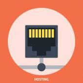 Hosting Icon Editable EPS format