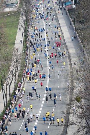 International Marathon in Kharkov, Ukraine, April ...