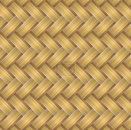 vector texture of straw matting
