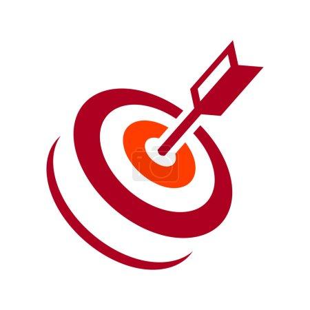 Illustration pour Identité logo corporatif Isolé sur fond blanc. Frappe vectorielle - image libre de droit