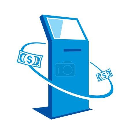 Illustration for Cash  Branding identity corporate logo isolated on white background - Royalty Free Image