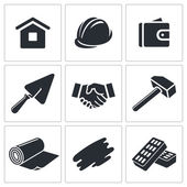Construction and home repair icons