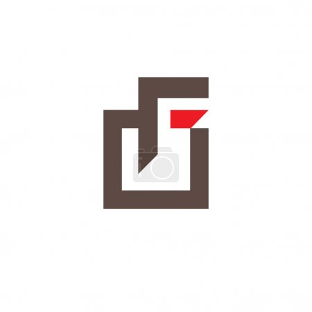 Sign  letter F icon