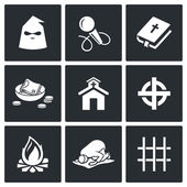 False religion sect icons