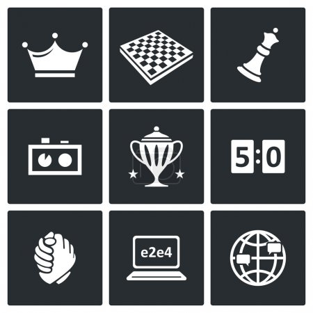 Chess game icons