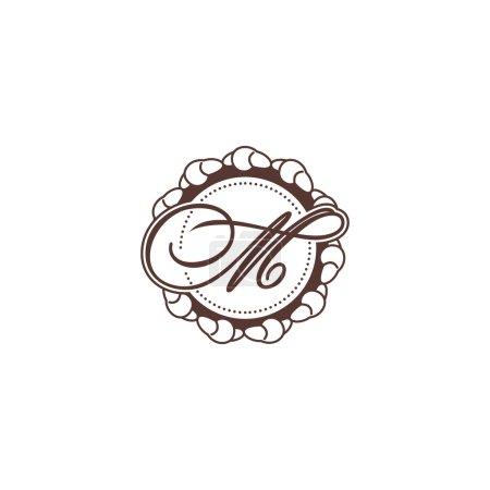 Sign of letterі C and M logo