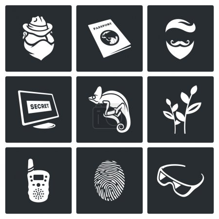 Masking of humans and animals icons