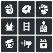 Russian special forces icons