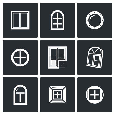 Verschiedene Fenster Icons gesetzt