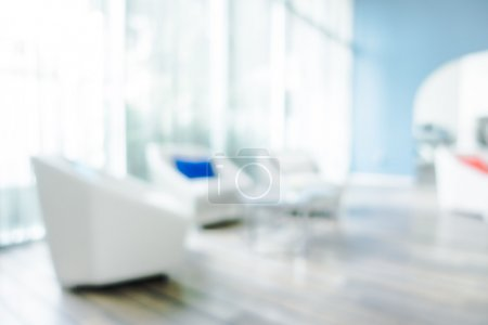 blur living room interior