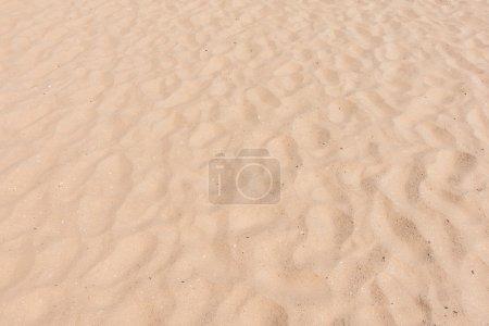 Photo pour Sable vide sur la plage pour les textures et le fond - image libre de droit