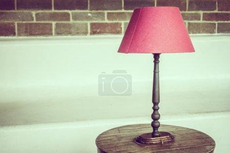 Decoración de lámpara de luz
