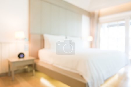 blur bedroom interior