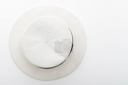 Woman beach hat