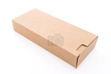 Empty brown box