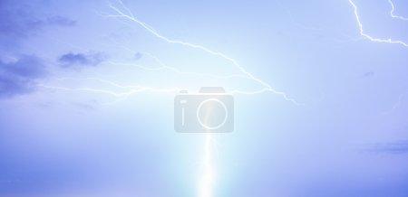 Thunderstorm lightning sky
