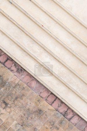 Photo pour Modèle d'escalier béton pour le fond - image libre de droit