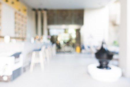 Abstract blur restaurant