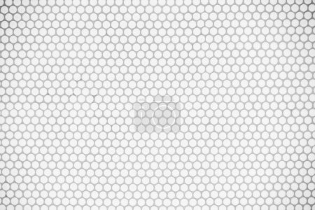 Photo for White tiles wall for textures and background - Royalty Free Image