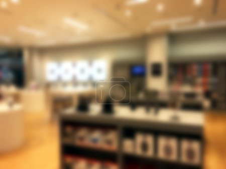 Photo for Abstract blur luxury retail and shopping mall interior for background - Royalty Free Image