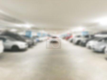 Blur car parking