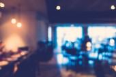Abstraktní rozostření restaurace