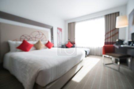 Abstract blur bedroom
