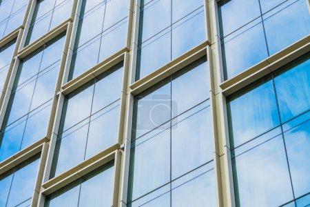 Foto de Hermosa arquitectura moderna y patrón de construcción - Imagen libre de derechos